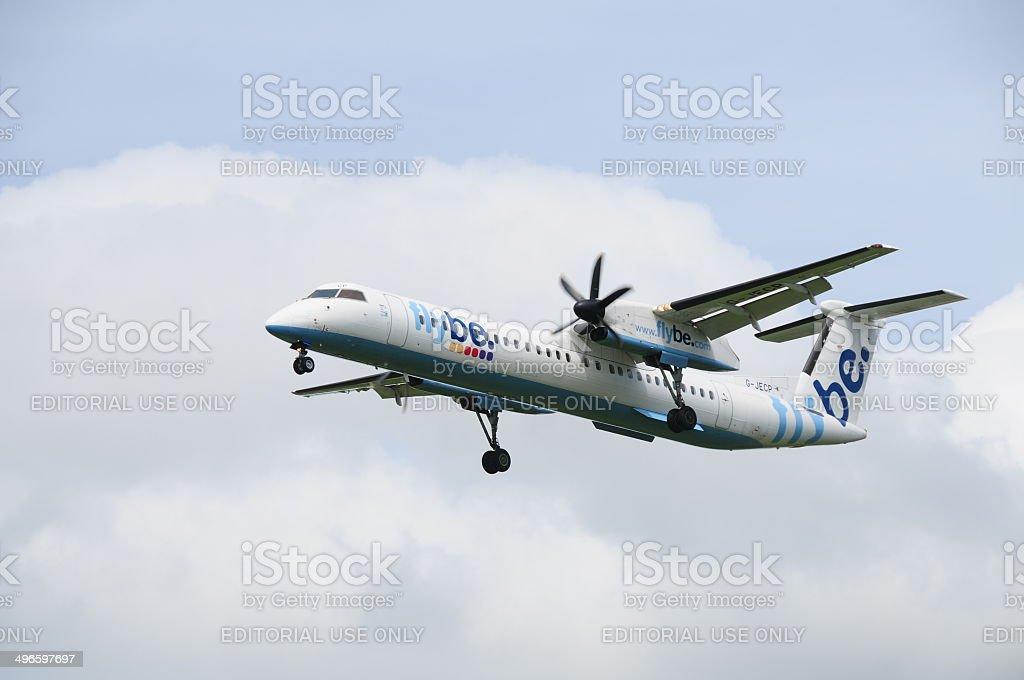 Flybe, U.K. stock photo