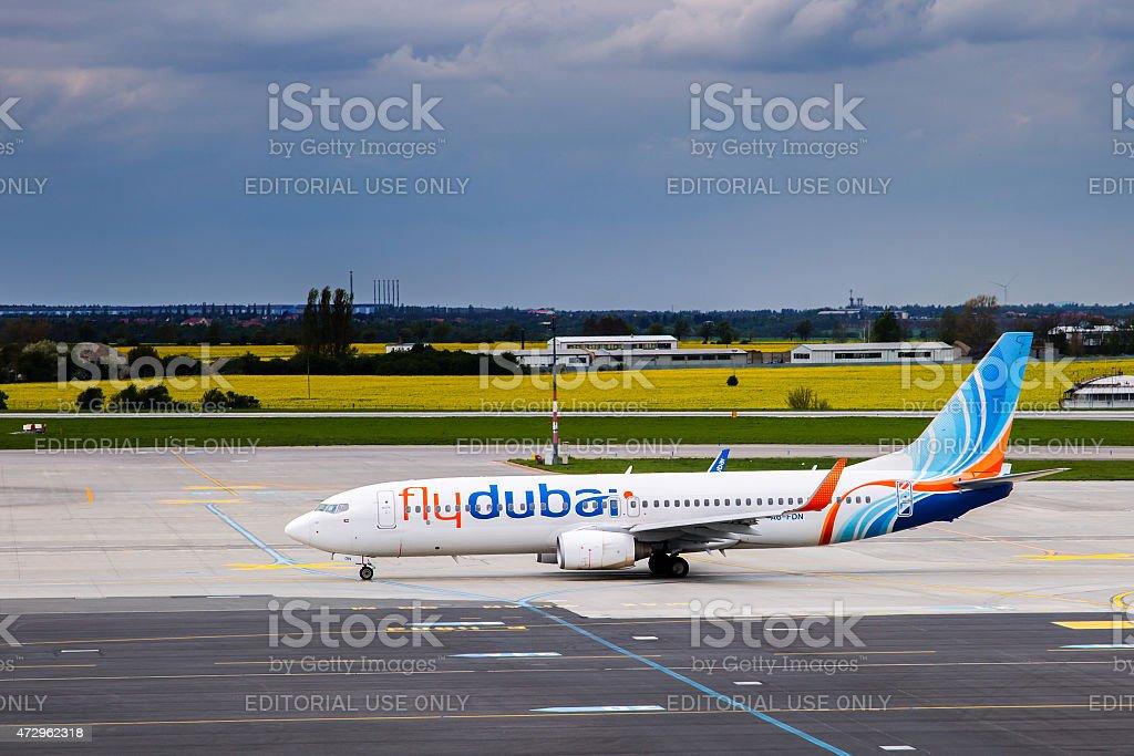 Flydubai stock photo