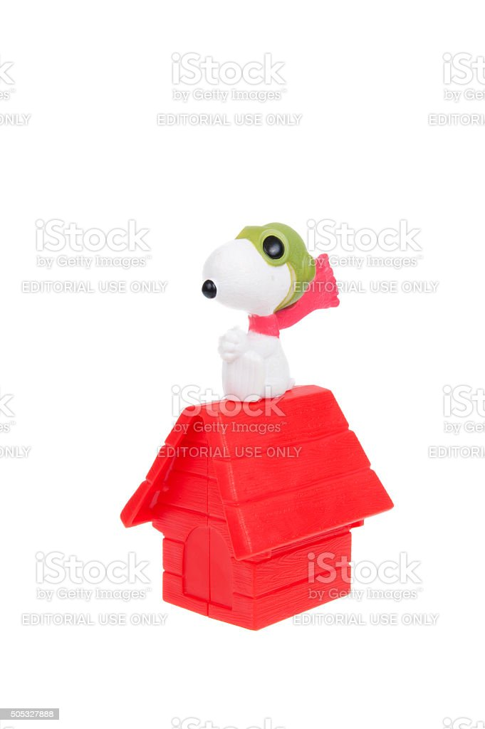 Flying Ace Snoopy 2015 Happy Meal Toy stock photo
