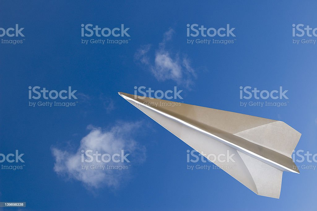 Flying Across royalty-free stock photo