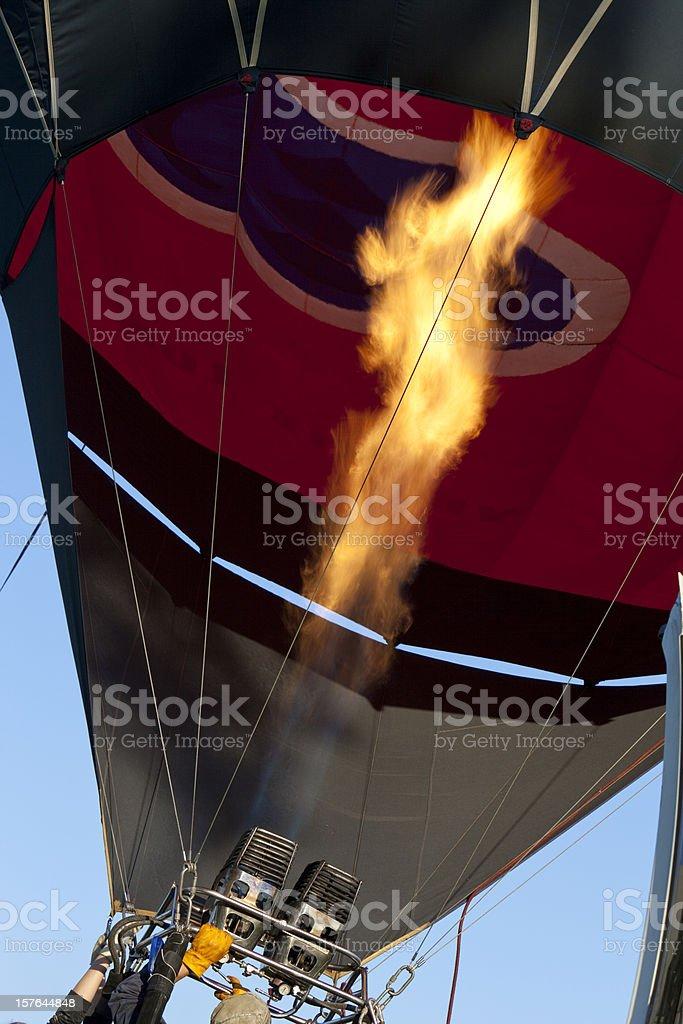 Flying Air Balloon stock photo