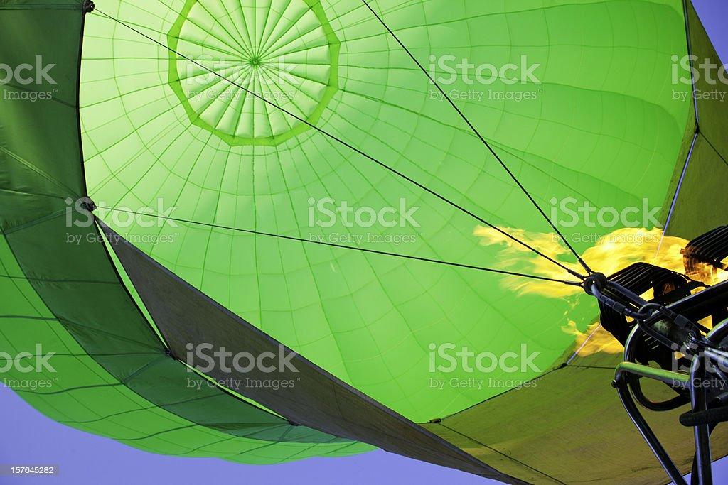 Flying Air Balloon royalty-free stock photo