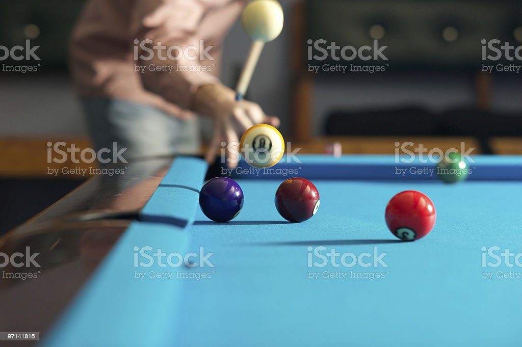 Flying Balls stock photo