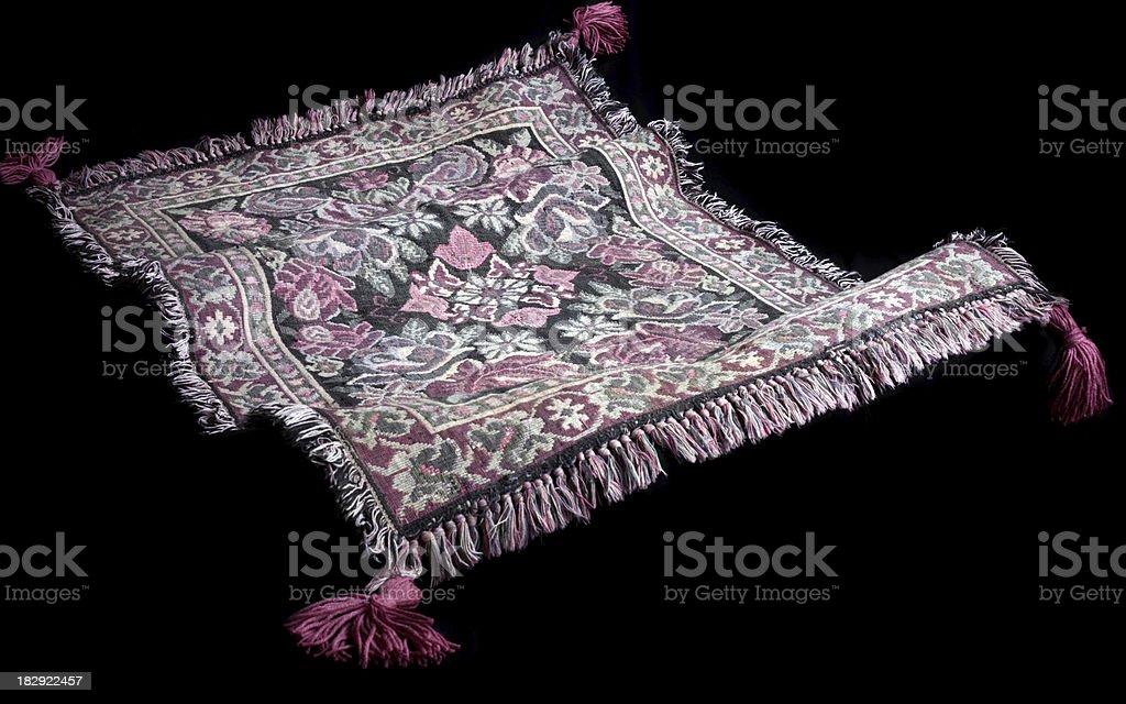 Flying Carpet stock photo