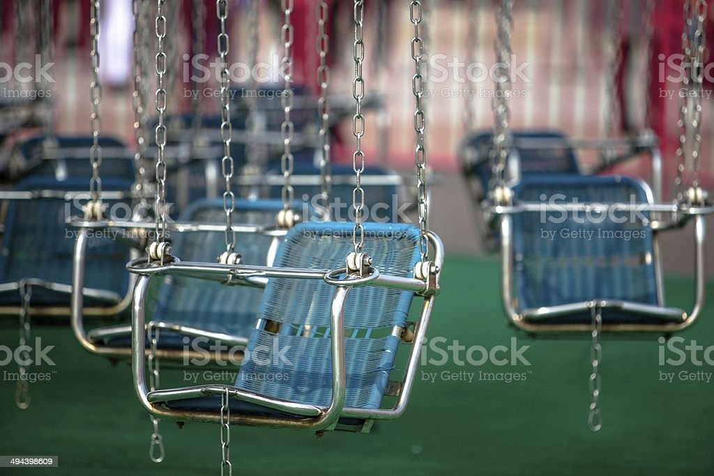 flying chairs royalty-free stock photo