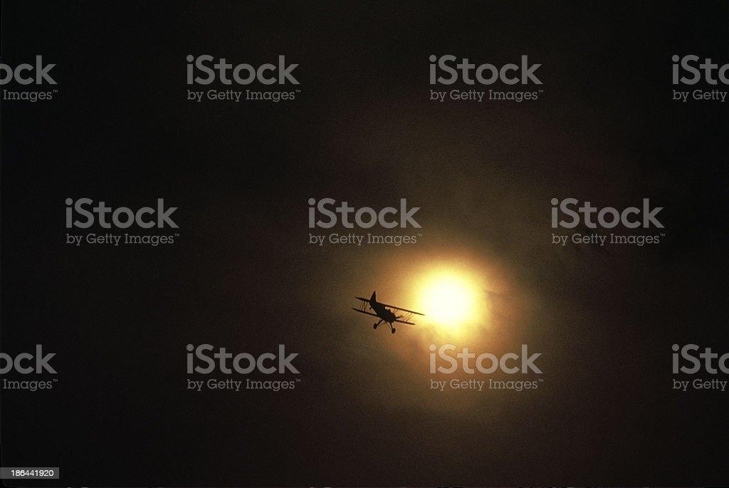 Flying Circus Air Show, VA royalty-free stock photo