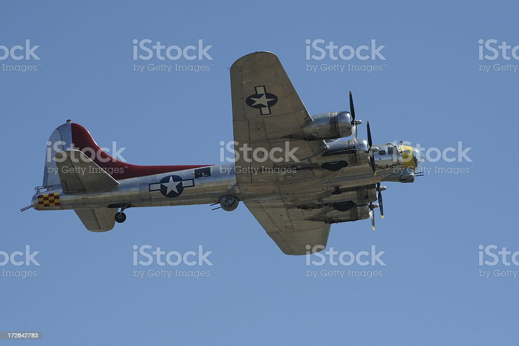 B-17 Flying Fortress royalty-free stock photo