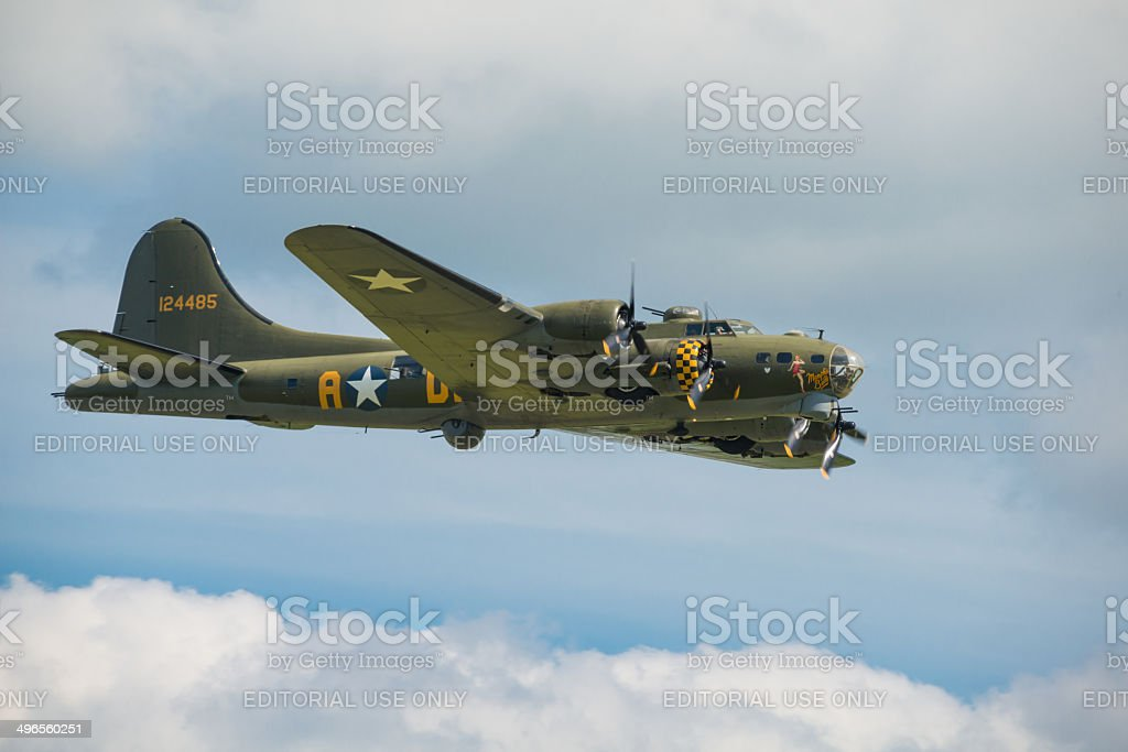 B17 Flying Fortress stock photo