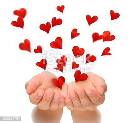 Celebrating Valentine's Day Flying-hearts-from-hands-valentines-day-love-concept-birthday-card-picture-id505994794?s=170667a
