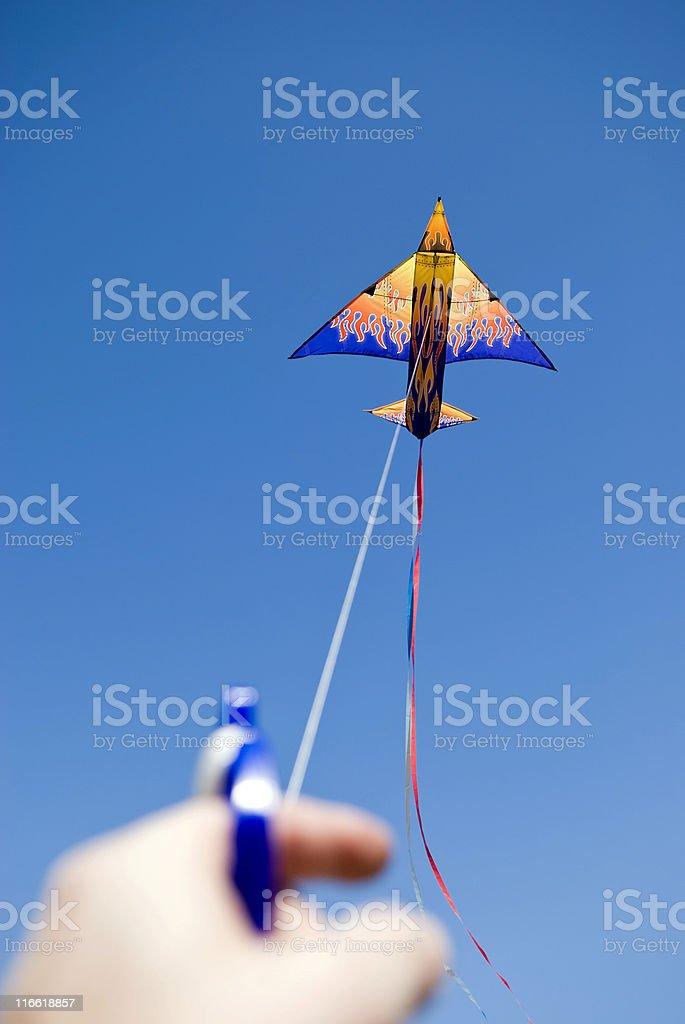 Fliegender Kite#2 Lizenzfreies stock-foto