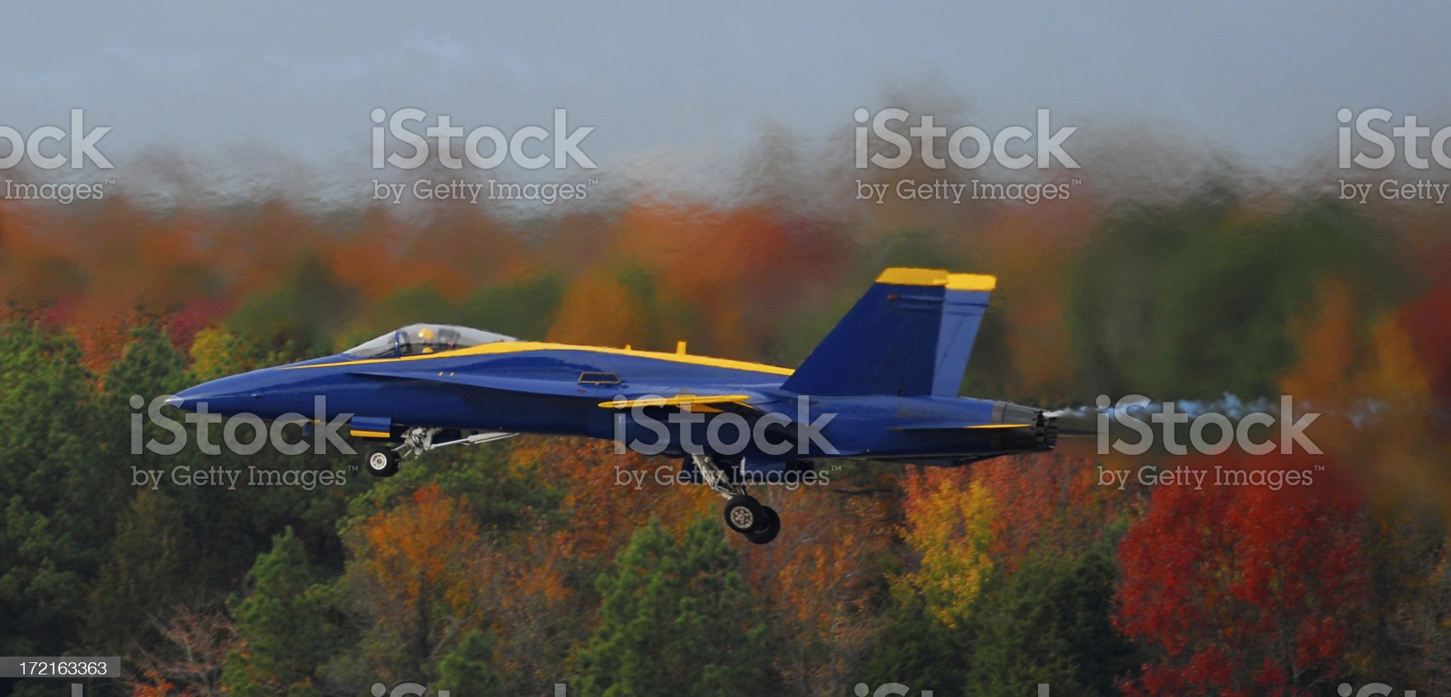 Flying Low and Fast royalty-free stock photo