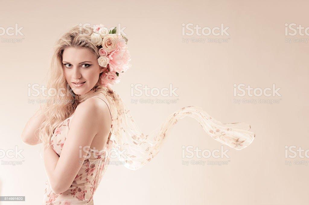 flying mood stock photo