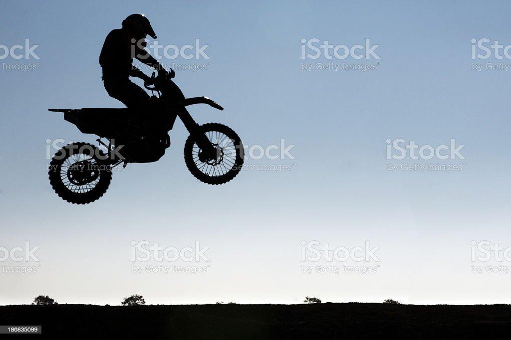 flying motor racing royalty-free stock photo
