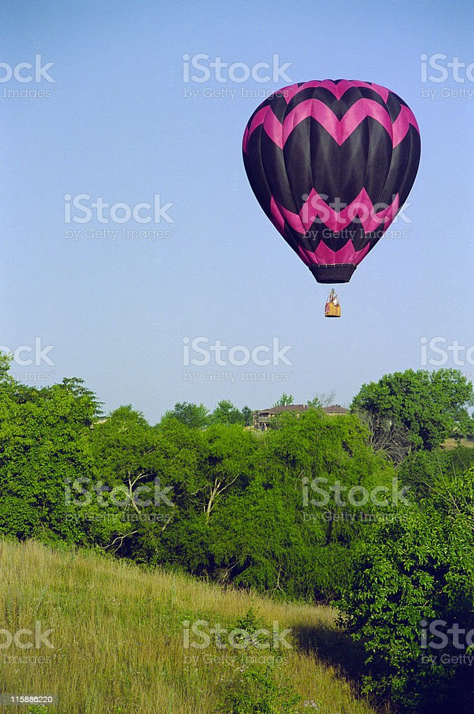 Flying over Iowa royalty-free stock photo