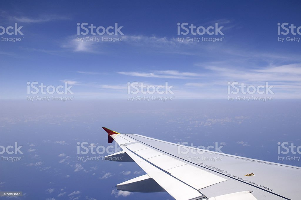 Flying royalty-free stock photo