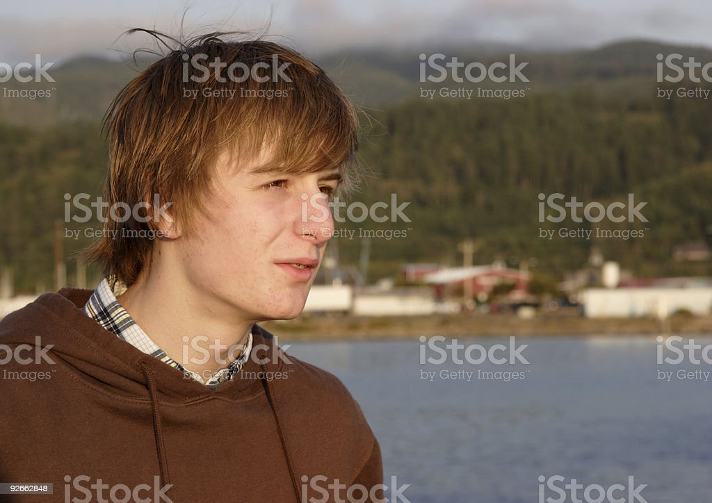 bay teen royalty-free stock photo