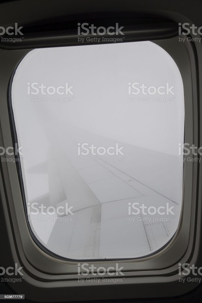 Flying Through a Cloud stock photo
