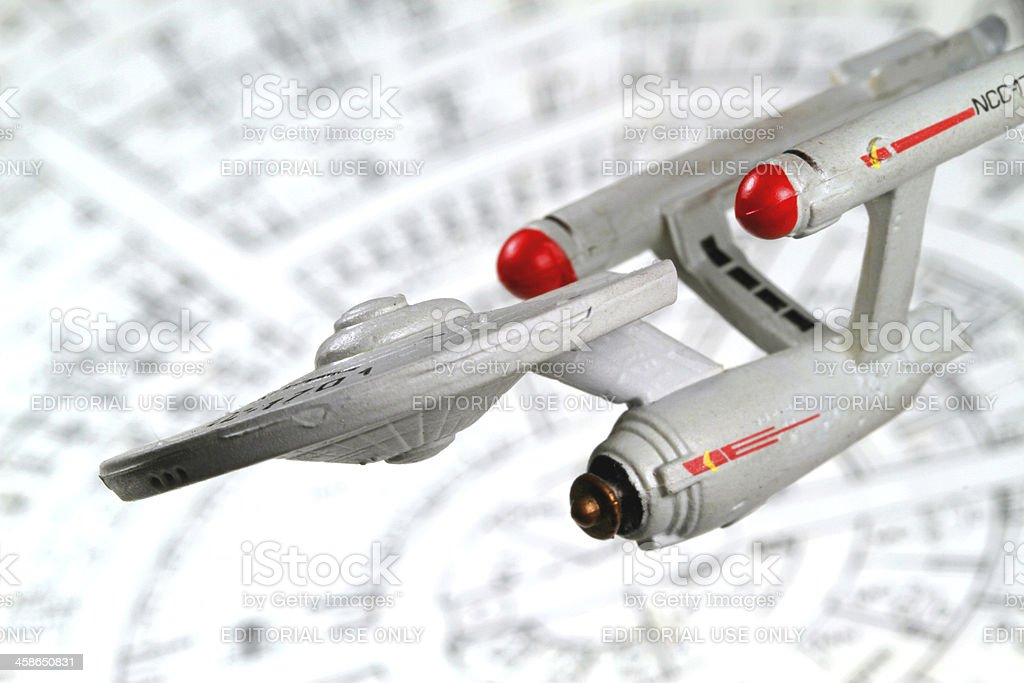 Flying to the Future royalty-free stock photo