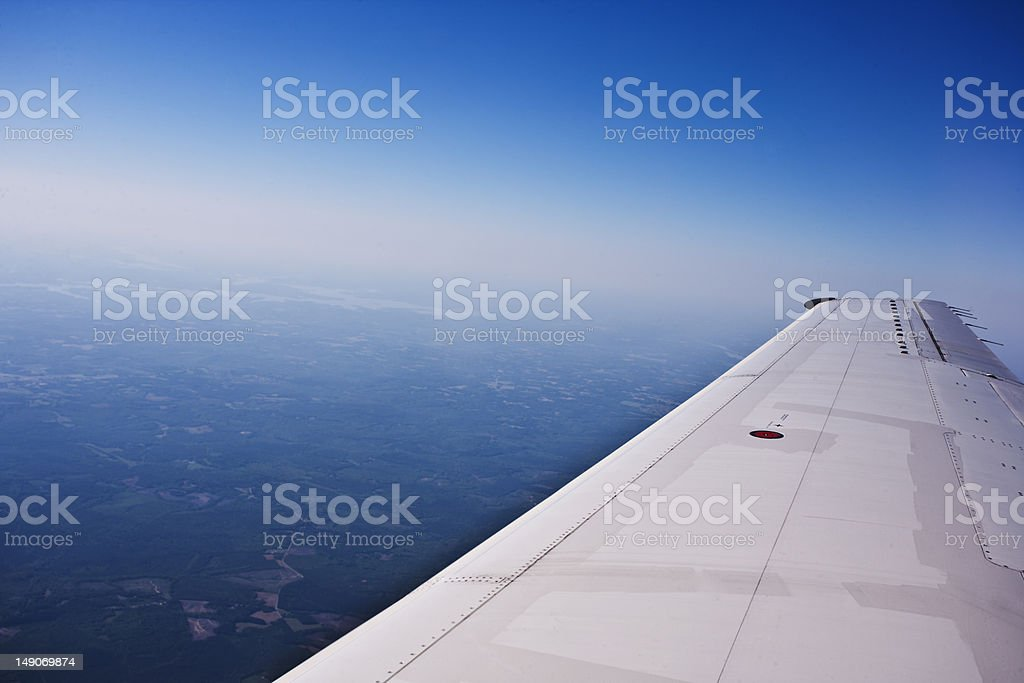 Flying Wing royalty-free stock photo