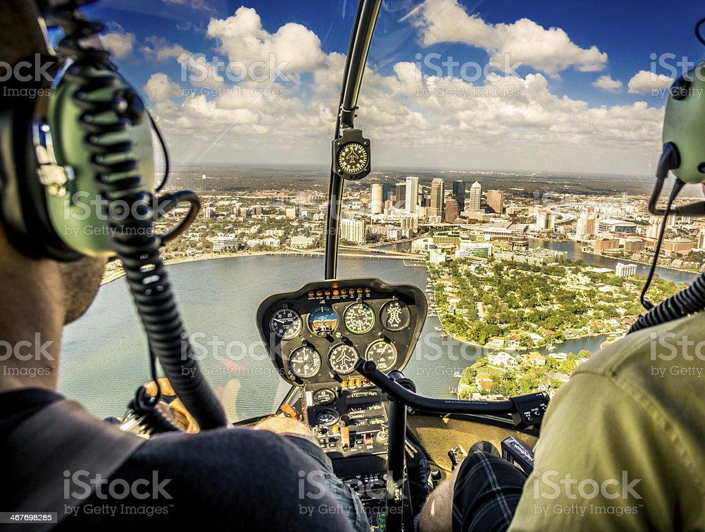 Flyover royalty-free stock photo