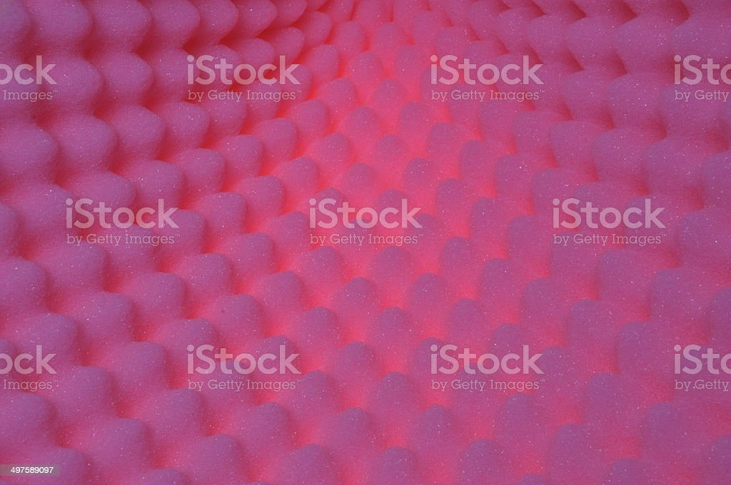 Foam acoustic, safe packaging material stock photo