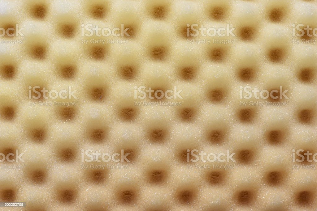 Foam acoustic sponge surface background stock photo