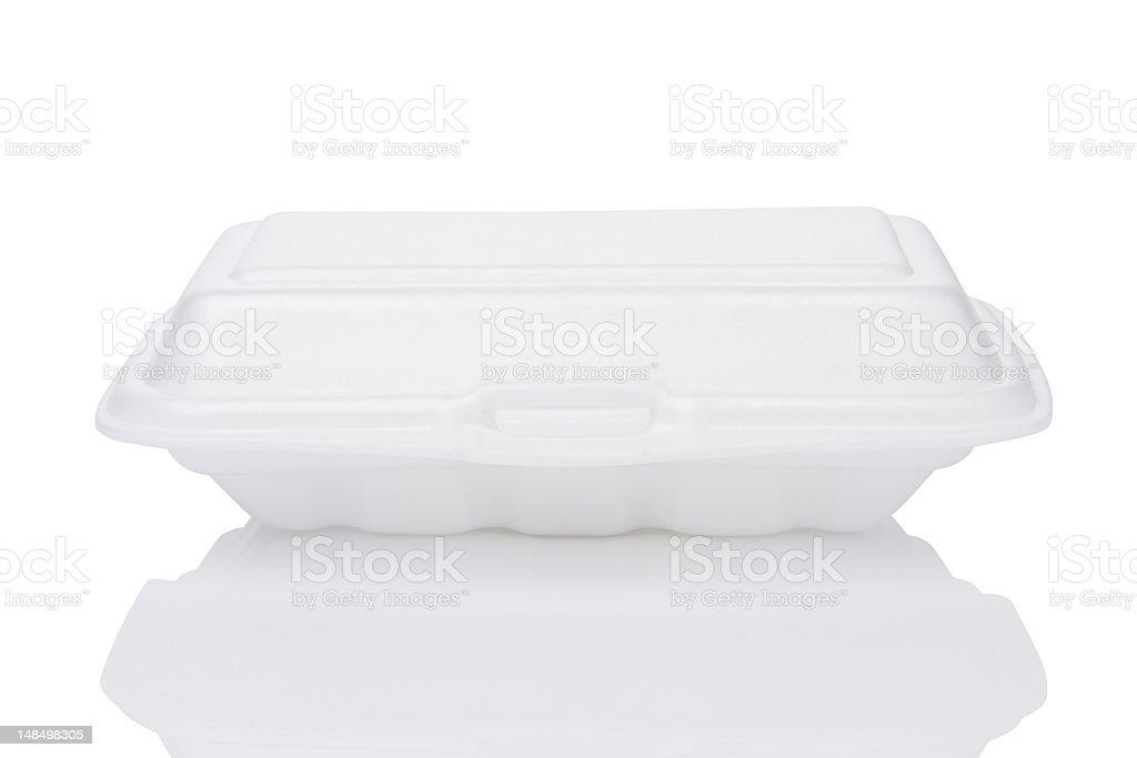 foam box royalty-free stock photo