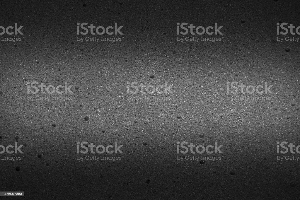 Foam bubble dark gray texture stock photo
