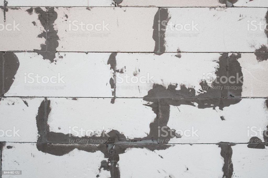 Foam concrete background stock photo