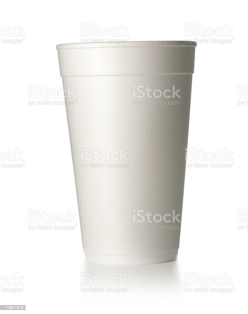 foam cup stock photo