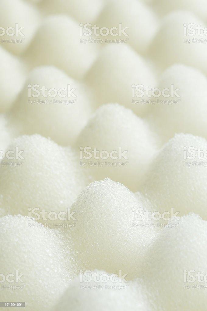 Foam packaging stock photo