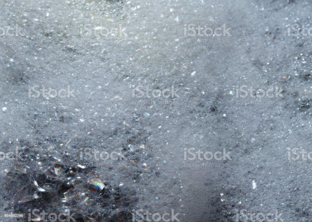 Foam stock photo