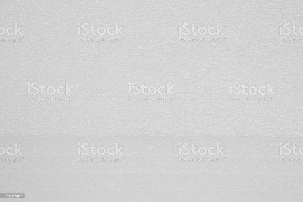 Foam plastic stock photo