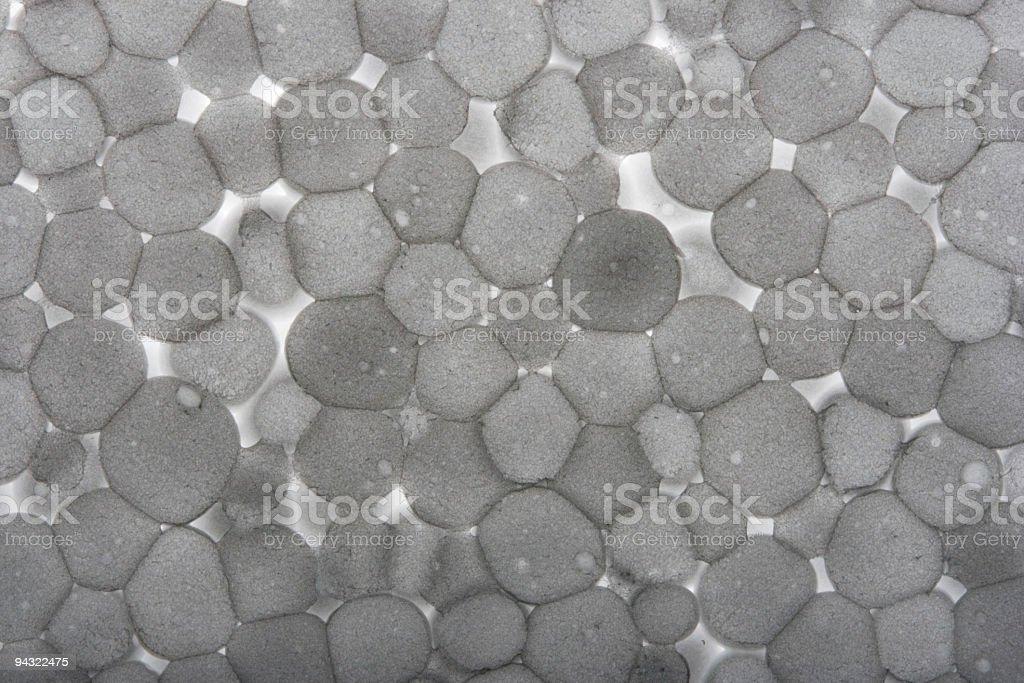 Foam plastic texture royalty-free stock photo