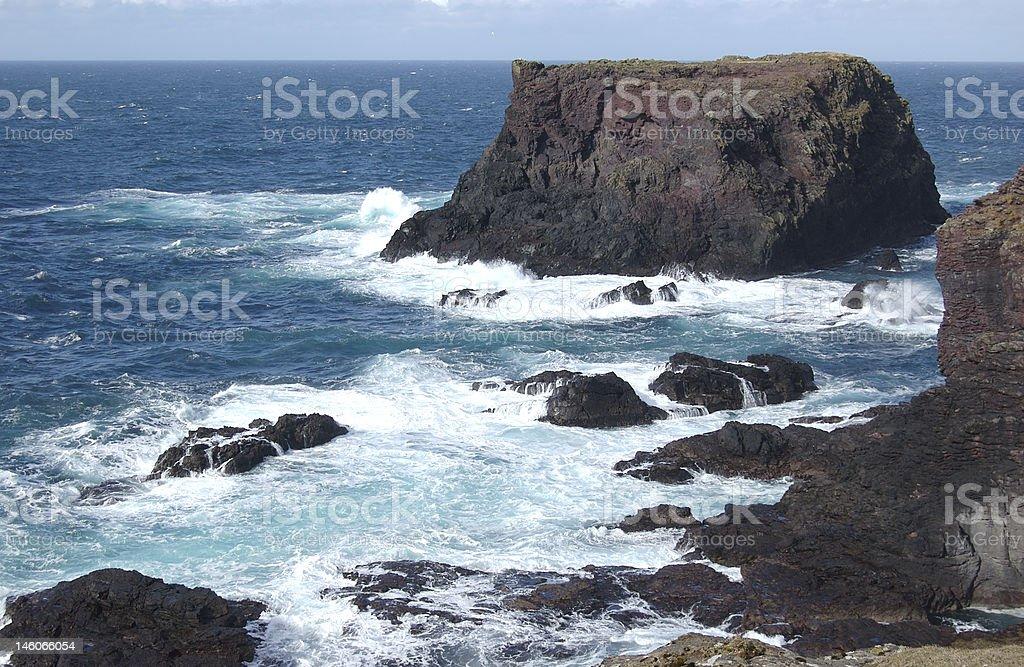 Foaming Sea stock photo