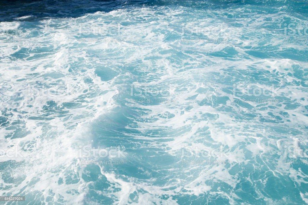Foamy water stock photo