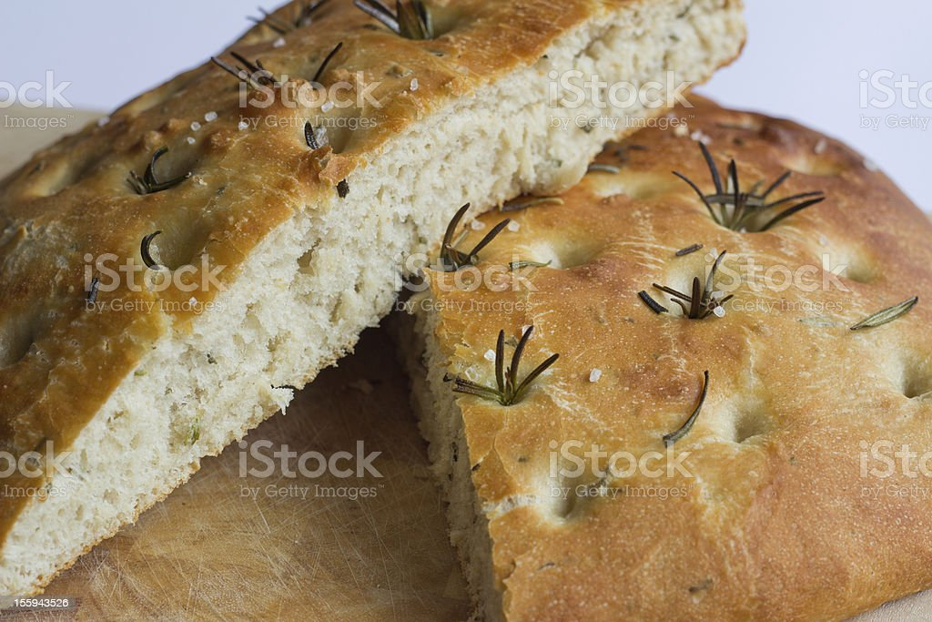 Foccacia Bread stock photo