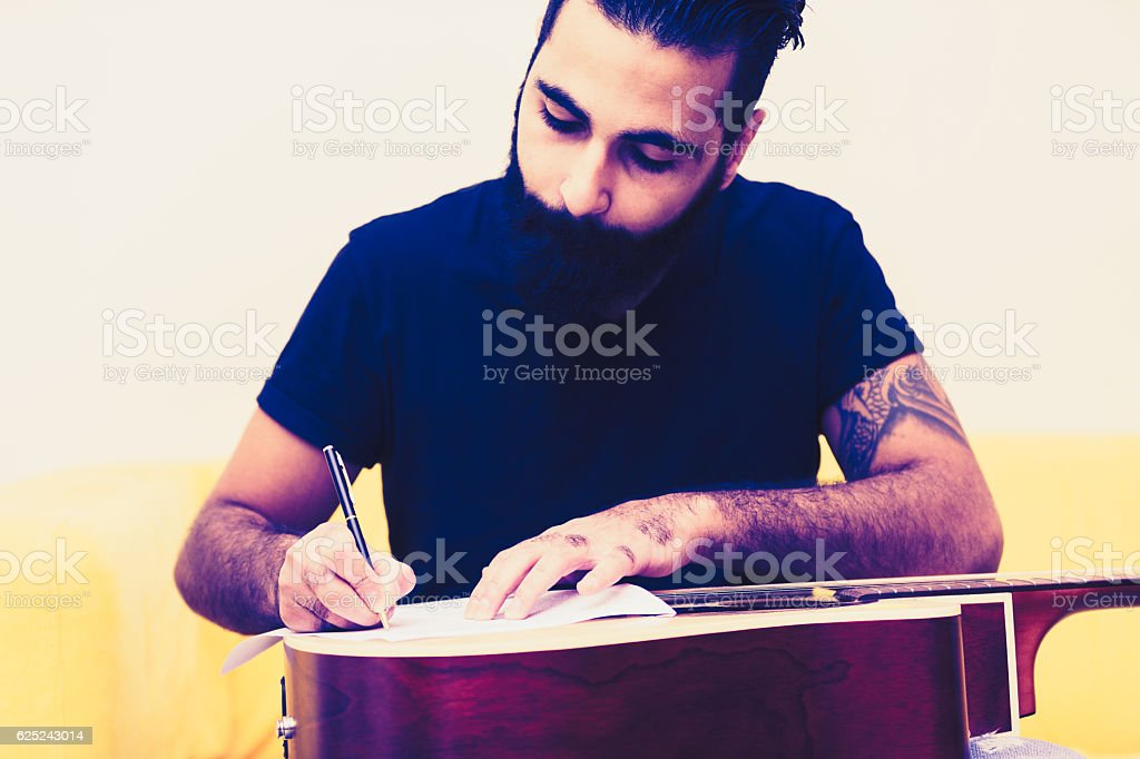 Focus is the most essential skill for this profession stock photo