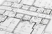 Focus on an architectonic plan