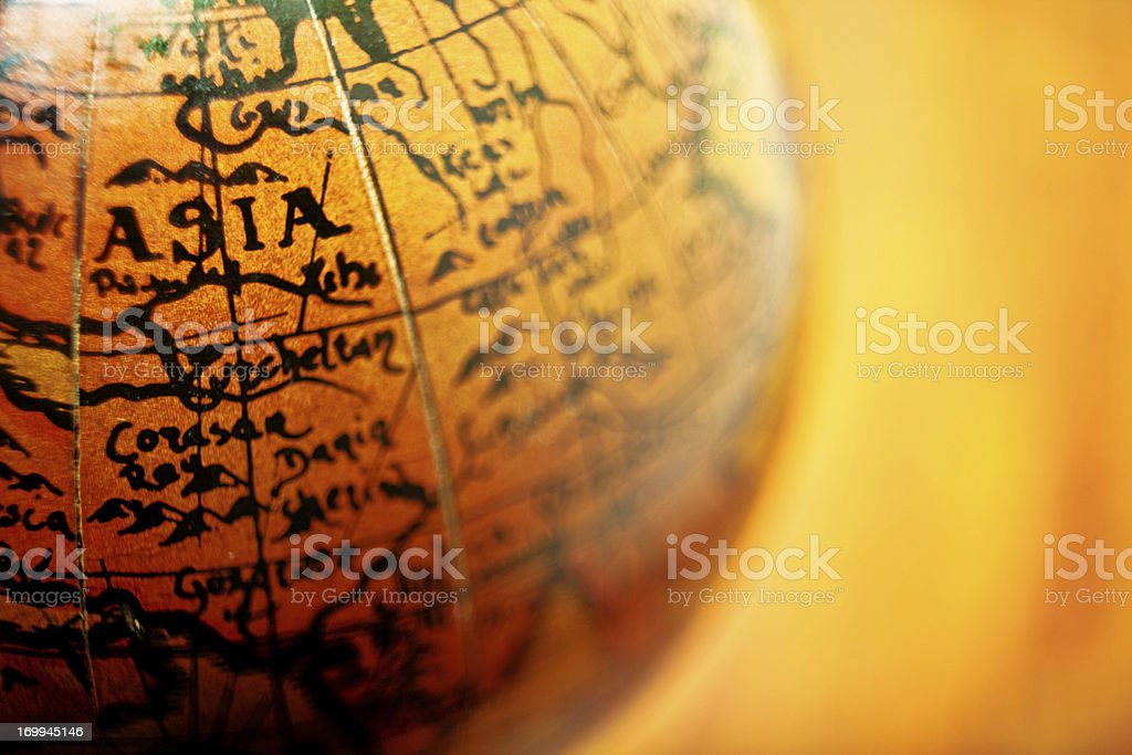 Focus On Asia royalty-free stock photo