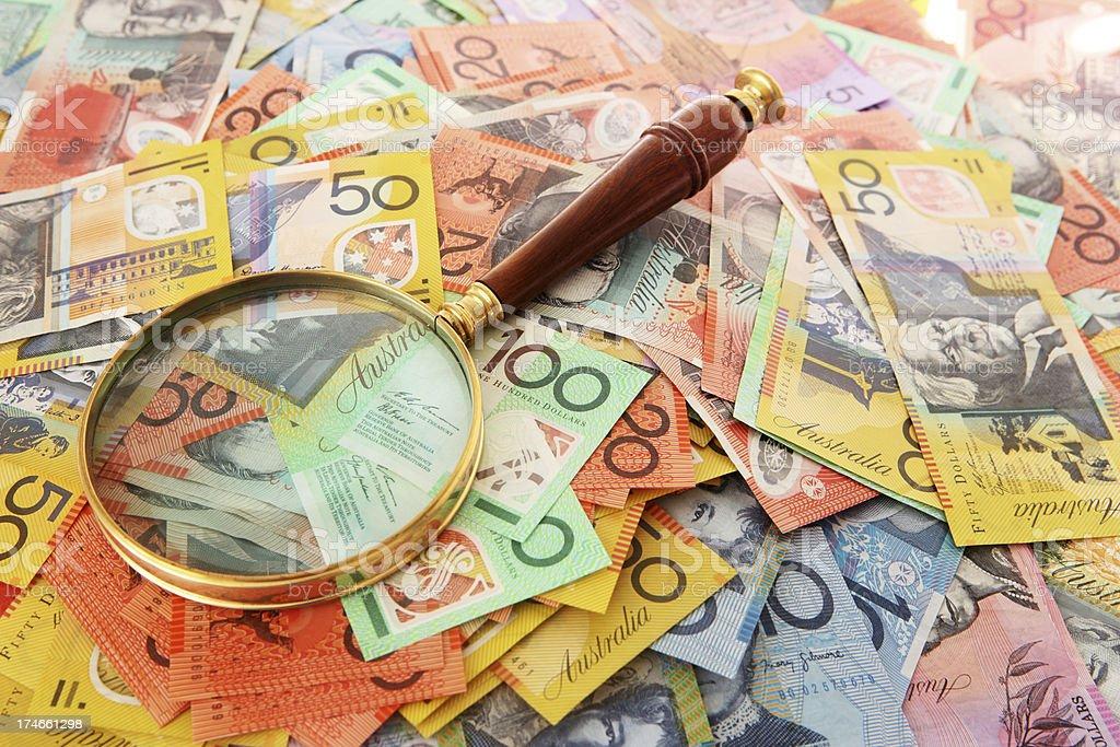 Focus on Finances stock photo