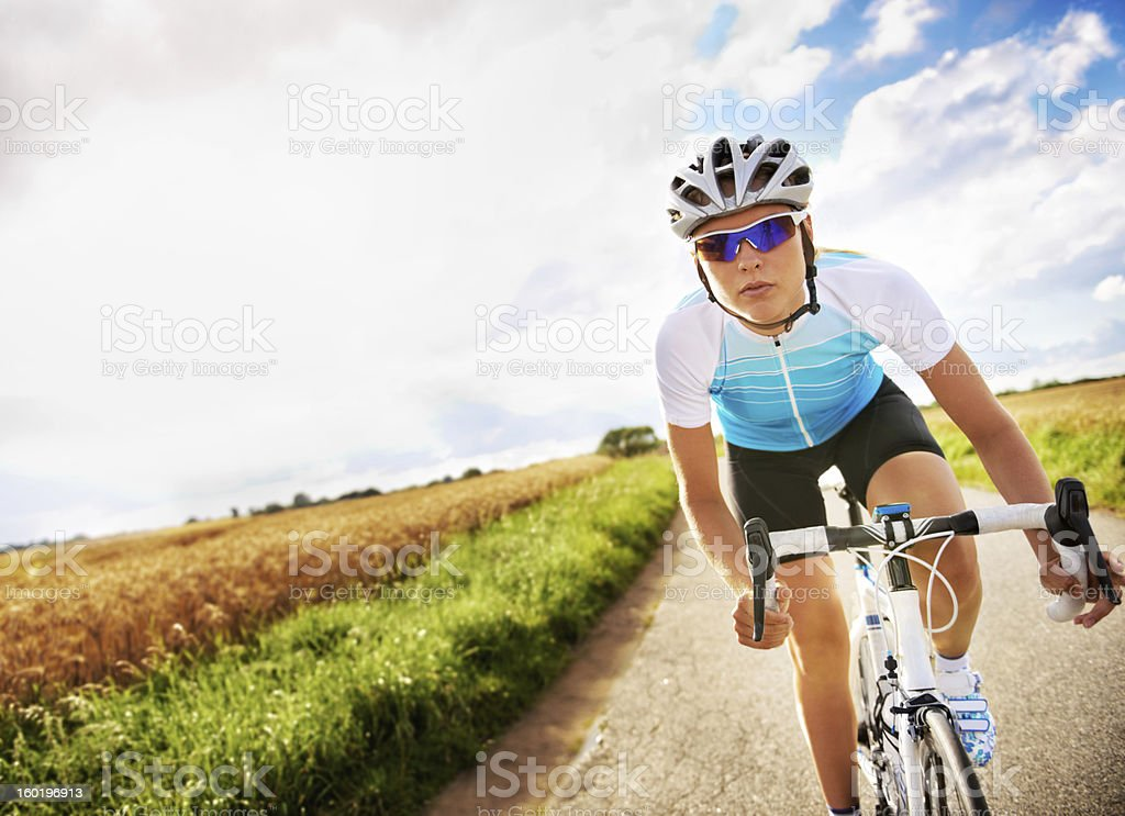 Focused on a new record time stock photo