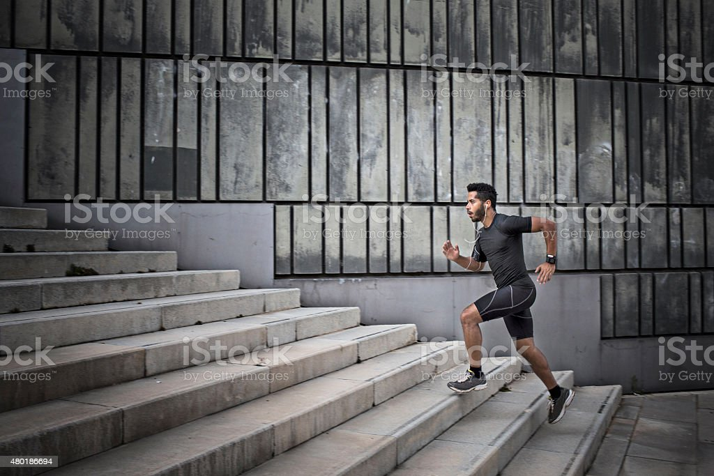 Focusing hard stock photo