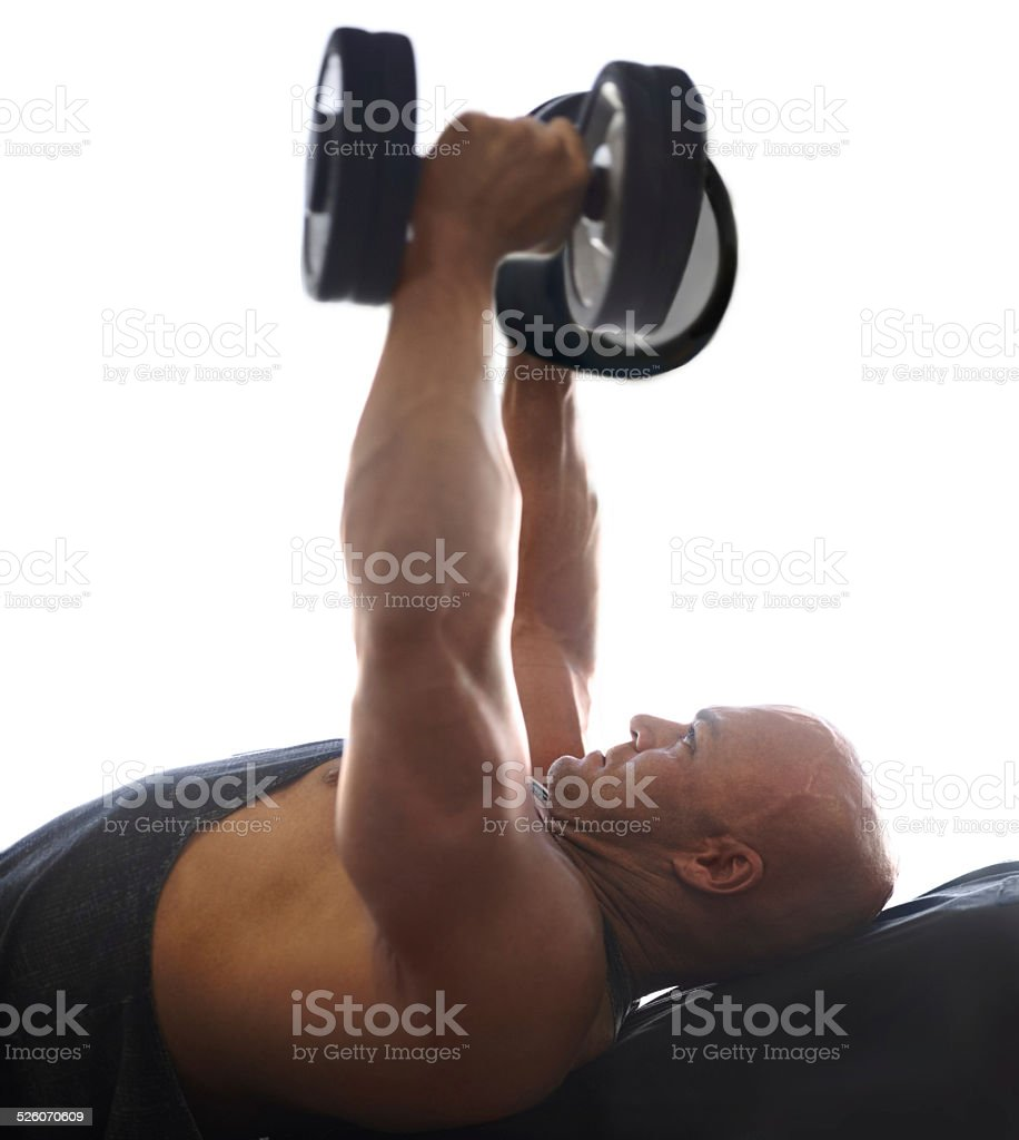 Focussed on firming up stock photo