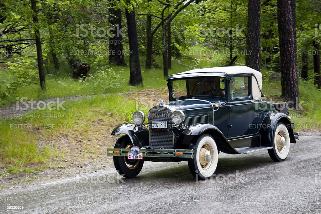 Fod A Sport Coupe from1931 royalty-free stock photo