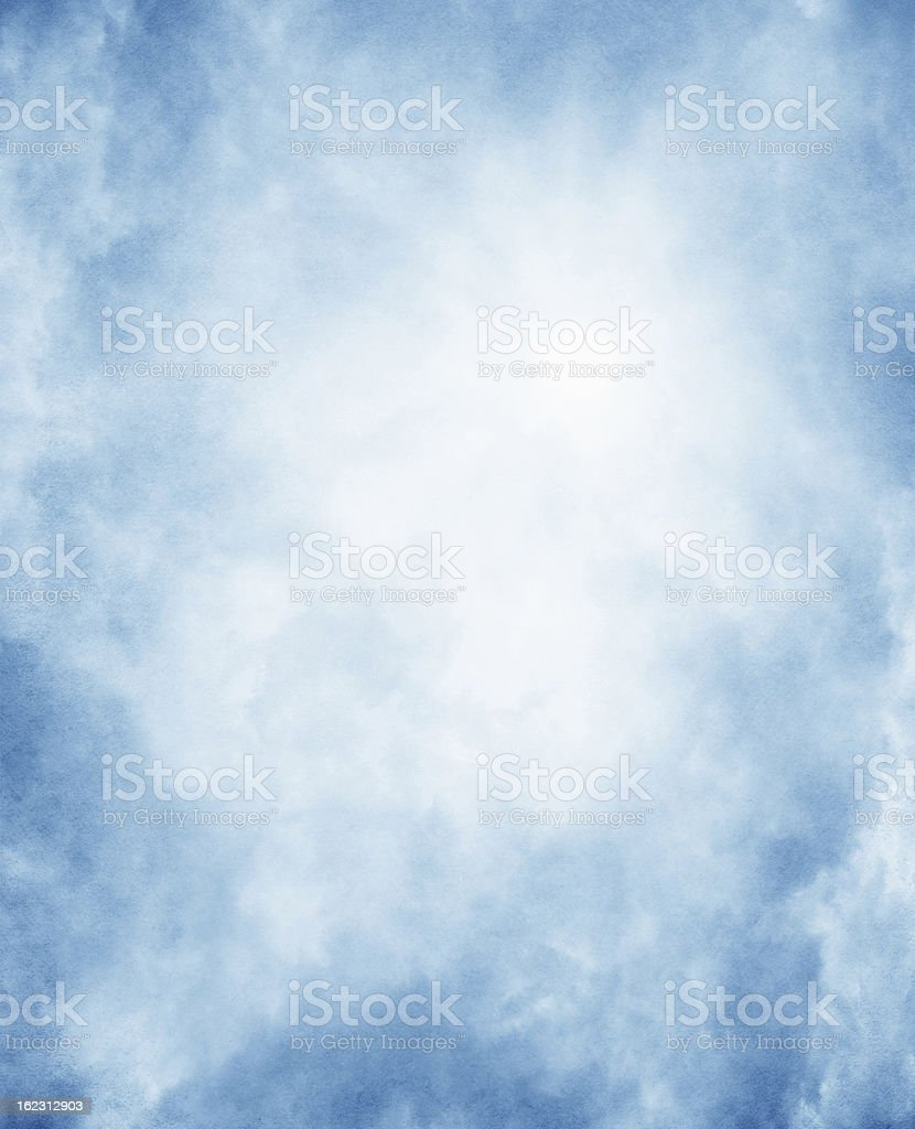 Fog on textured paper background royalty-free stock photo