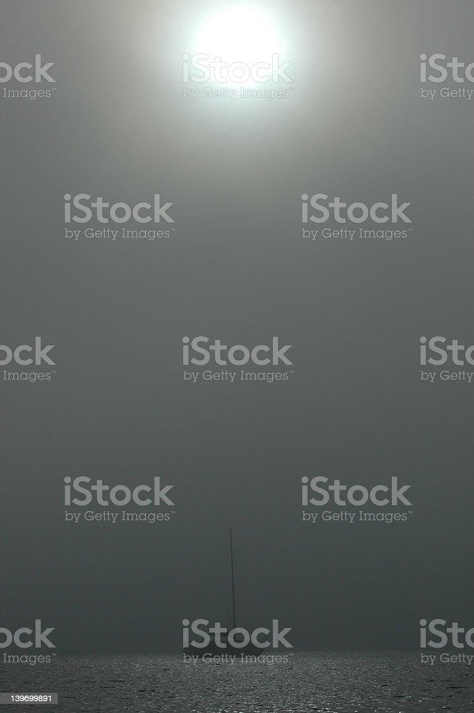 fog rolls in royalty-free stock photo