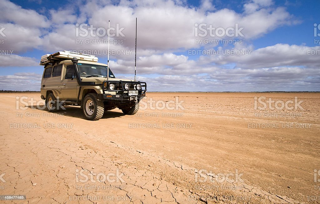 Fogarty's Claypan 4WD royalty-free stock photo