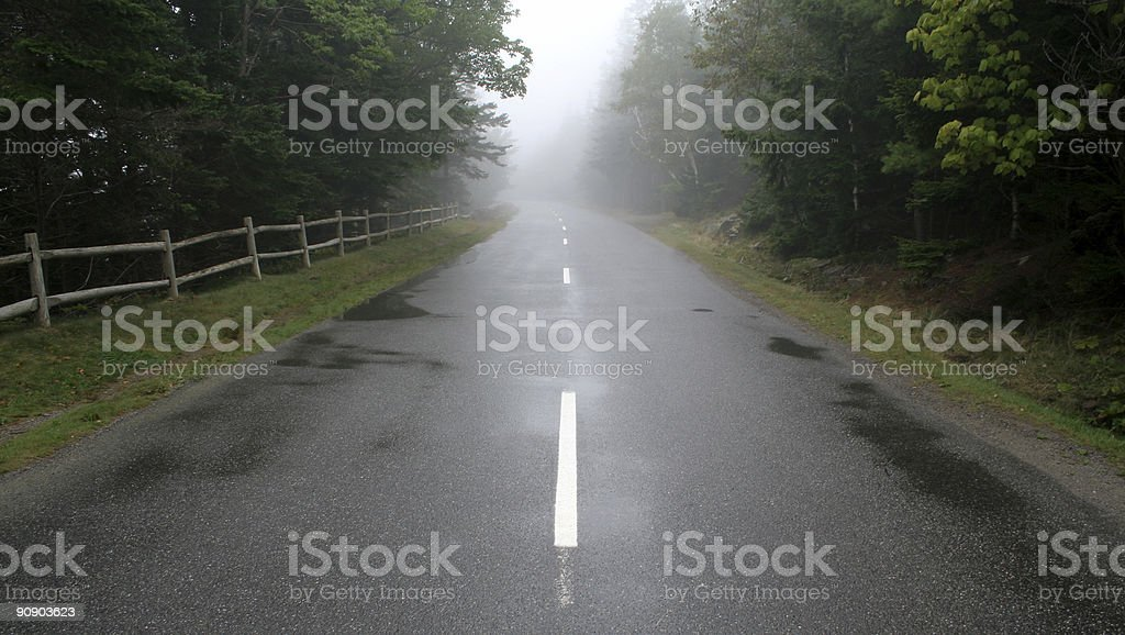 Foggy Future royalty-free stock photo