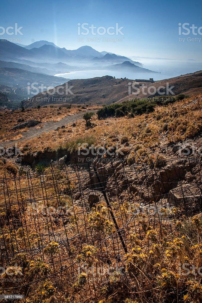 Paysage Foggy Bottom photo libre de droits